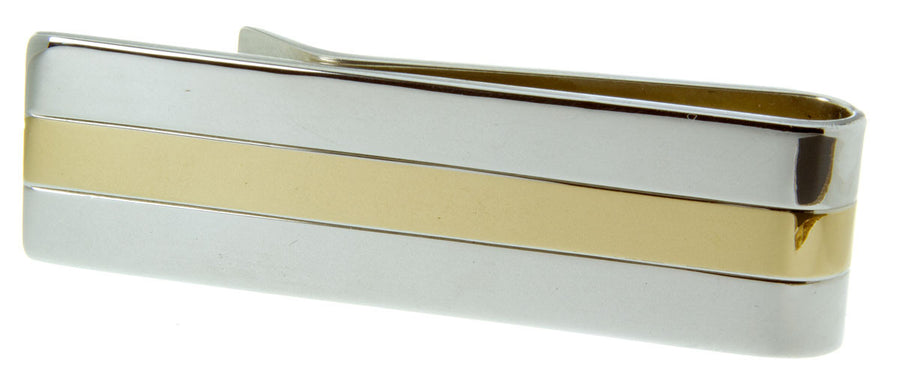 Tiffany & Co. Silver & 18kt Gold Money Clip
