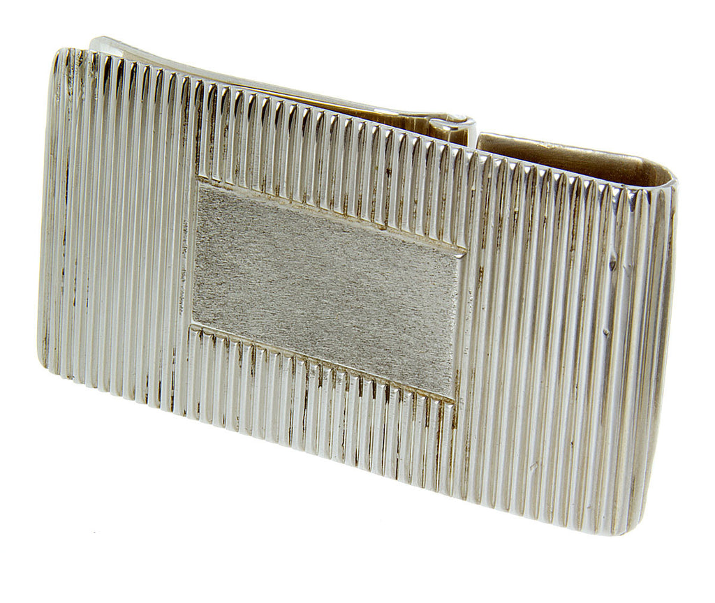 Tiffany & Co. Silver Hinged Money Clip