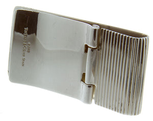 Tiffany & Co. Silver Hinged Money Clip - Chicago Pawners & Jewelers