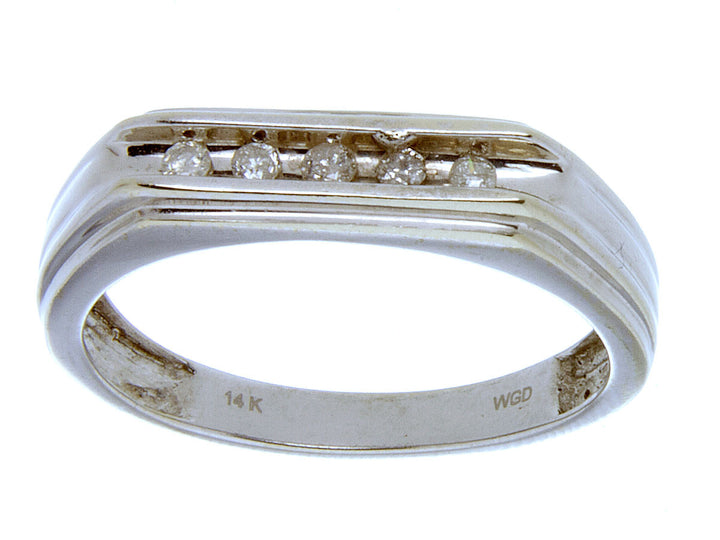 Channel Set Diamond Wedding Band - Chicago Pawners & Jewelers