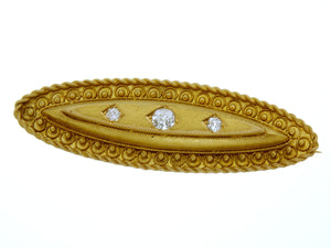 Victorian Diamond Bar Pin