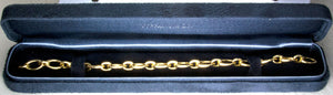 Tiffany & Co. 18K Gold Clasping Link Bracelet - Chicago Pawners & Jewelers