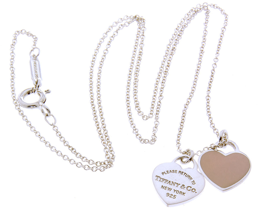 Tiffany & Co. Return to Tiffany Double Heart Tag Pendant - Chicago Pawners & Jewelers