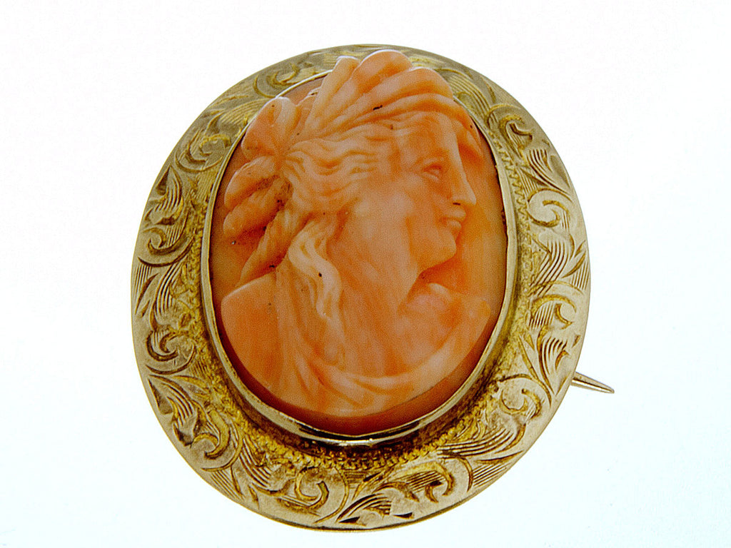 Antique Cameo Brooch - Chicago Pawners & Jewelers