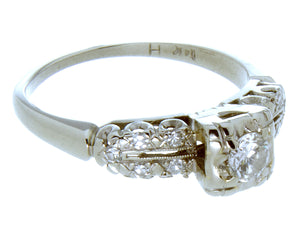 1950s Diamond Engagement Ring - Chicago Pawners & Jewelers