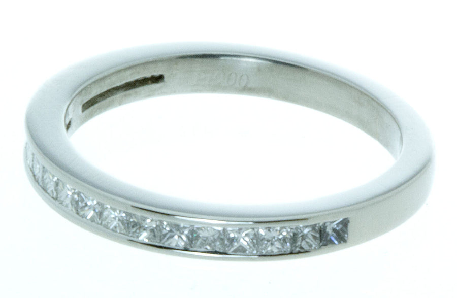 Platinum Diamond Stackable Band - Chicago Pawners & Jewelers