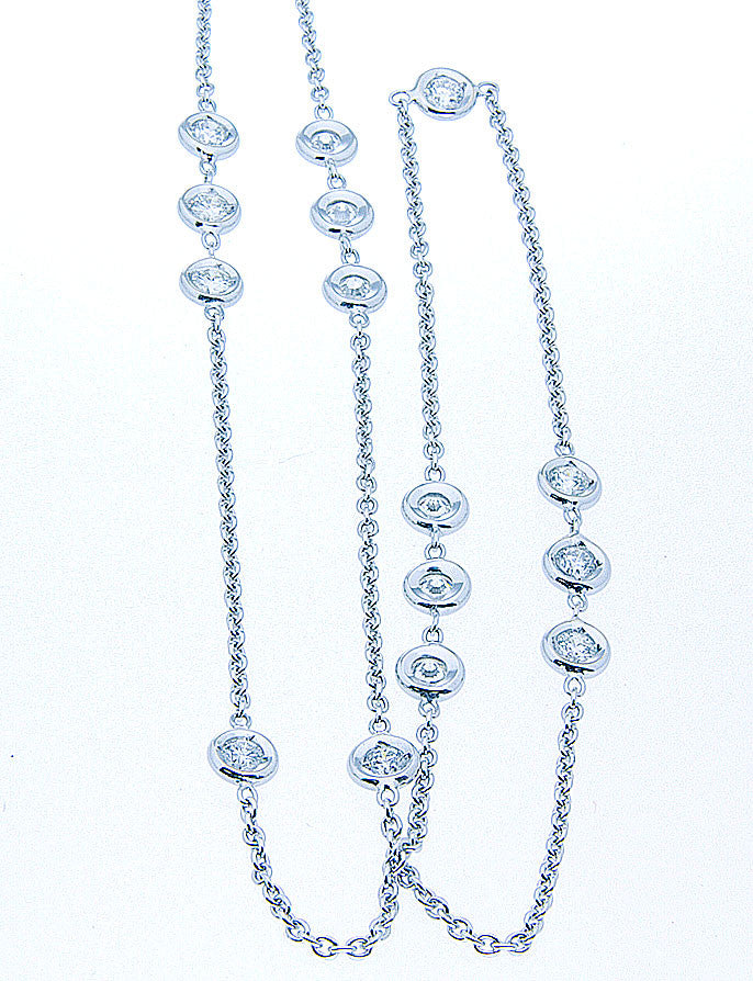 Diamonds By The Yard Necklace - Chicago Pawners & Jewelers