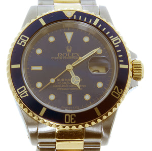 Rolex Submariner SS/18K Blue Dial