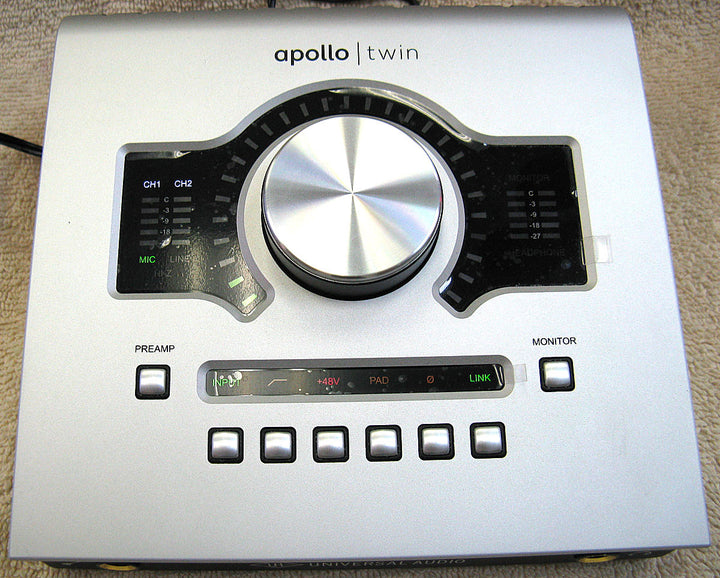 Universal Audio Apollo Twin Solo Interface - Chicago Pawners & Jewelers