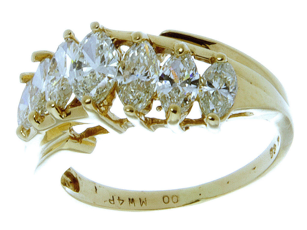 1.00ct Marquise Diamond Anniversary Band - Chicago Pawners & Jewelers
