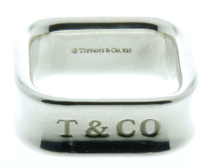Tiffany & Co. 1837 Square Ring