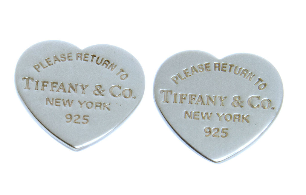 Tiffany & Co. Return to Tiffany Mini Heart Tag Earrings