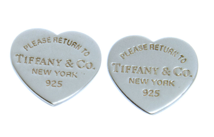 Tiffany & Co. Return to Tiffany Mini Heart Tag Earrings - Chicago Pawners & Jewelers