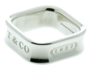 Tiffany & Co. 1837 Square Ring - Chicago Pawners & Jewelers