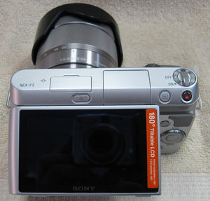 Sony NEX-F3 Digital Camera 16.1MP