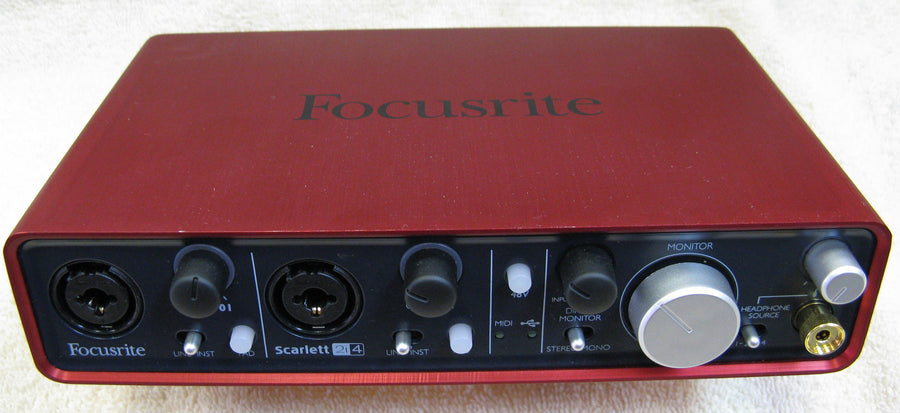 Focusrite Scarlett 2i4 USB Audio Interface - Chicago Pawners & Jewelers