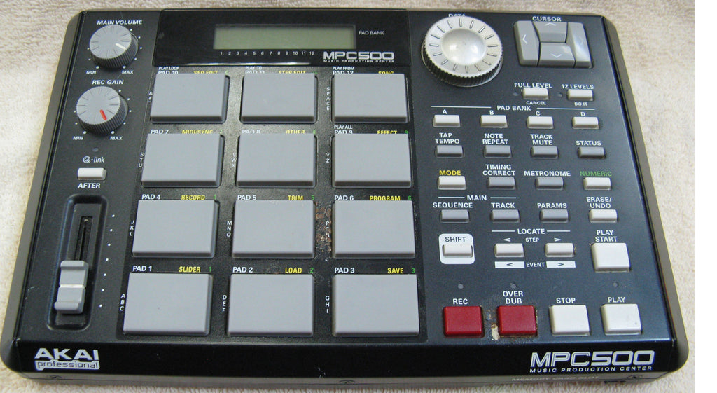 Akai MPC500 Portable Music Production Center - Chicago Pawners & Jewelers