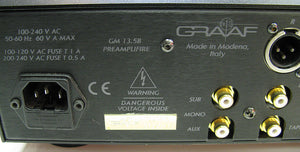 GRAAF GM 13.5b II Tube Preamplifier - Chicago Pawners & Jewelers