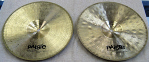 "Paiste Signature 12"" Heavy Hi Hat Cymbals - Chicago Pawners & Jewelers"