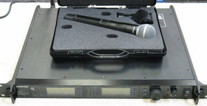 Shure UR4D+ & UR2 SM58 Wireless Mic Set
