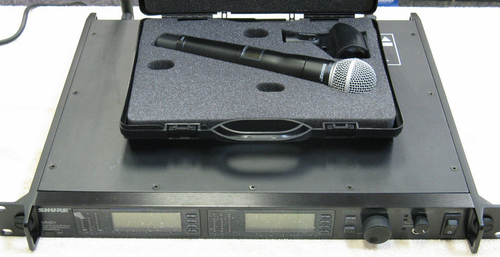 Shure UR4D+ & UR2 SM58 Wireless Mic Set - Chicago Pawners & Jewelers
