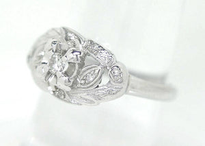 1950s Diamond Cocktail Ring - Chicago Pawners & Jewelers