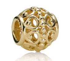 Pandora Gilded Cage 14kt Gold Charm -  750458 - Chicago Pawners & Jewelers