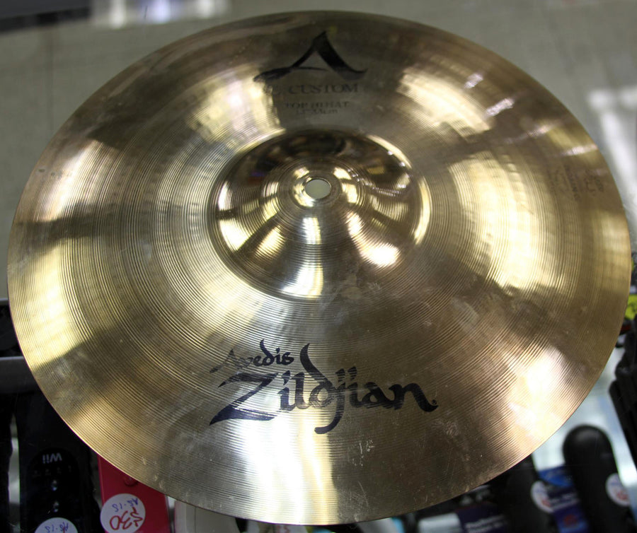 "Zildjian 13"" A Custom Hi-Hat Cymbals - Chicago Pawners & Jewelers"