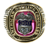 American Bowling Congress 300 Game Ring - Chicago Pawners & Jewelers