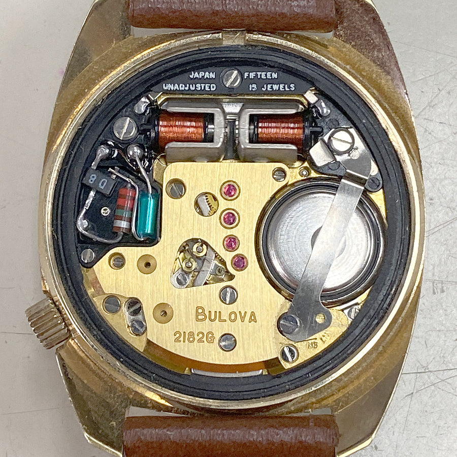 1970s Bulova Accutron 2182G Day Date - Chicago Pawners & Jewelers