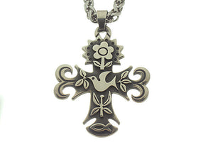 James Avery La Primavera Cross and Chain - Chicago Pawners & Jewelers
