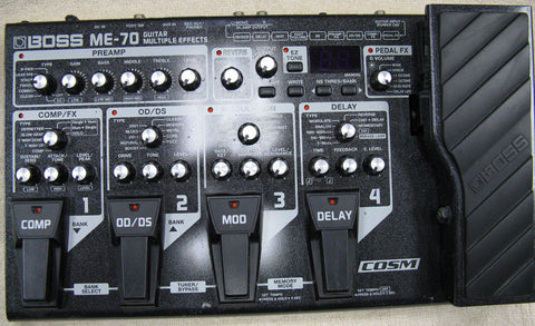 Boss ME-70 Guitar Effects Processor