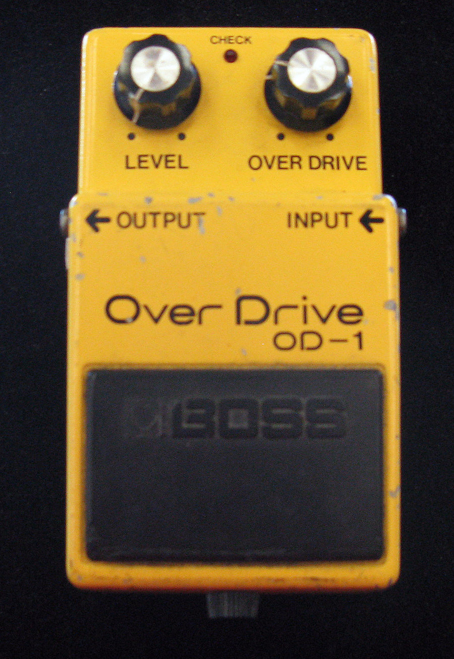 Boss OD-1 Overdrive Pedal - Chicago Pawners & Jewelers