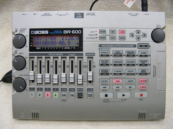 Boss BR-600 Portable Digital Recorder - Chicago Pawners & Jewelers