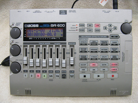Boss BR-600 Portable Digital Recorder