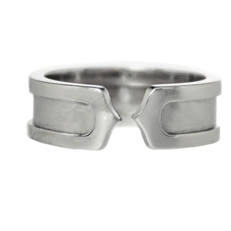 Cartier Double C Logo Ring - Chicago Pawners & Jewelers