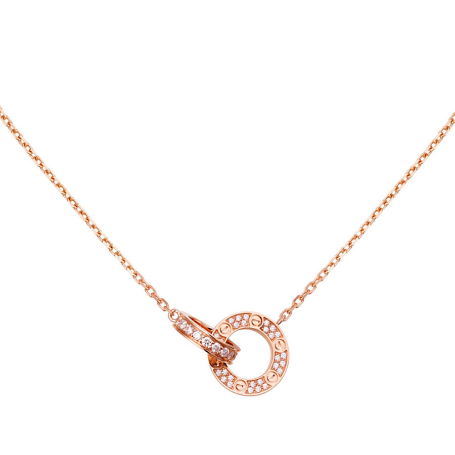 Cartier Diamond Love Necklace - Chicago Pawners & Jewelers