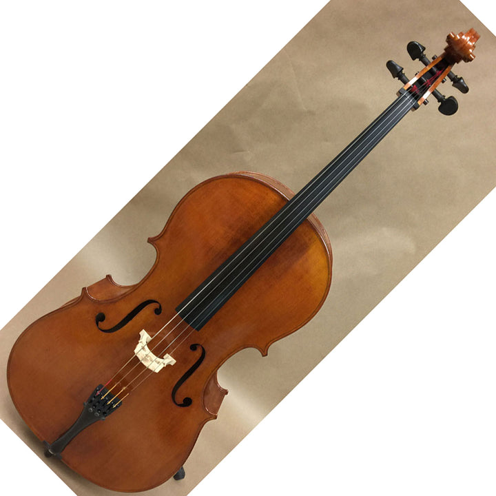 K.R. Bachelder Full Size Cello with Bow - Chicago Pawners & Jewelers