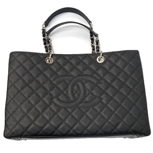 Chanel Caviar Grand Shopping Tote GST - Chicago Pawners & Jewelers