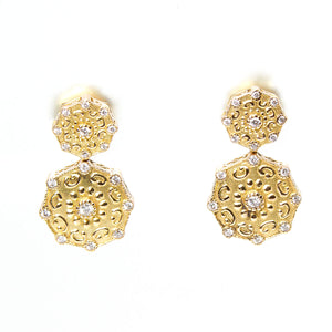Charriol Celtique Diamond Earrings - Chicago Pawners & Jewelers