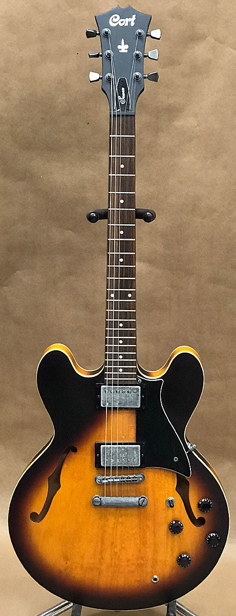 cort source 335 style electric guitar chicago pawners jewelers. Black Bedroom Furniture Sets. Home Design Ideas