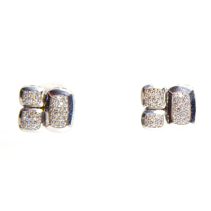 David Yurman Confetti Diamond Earrings - Chicago Pawners & Jewelers