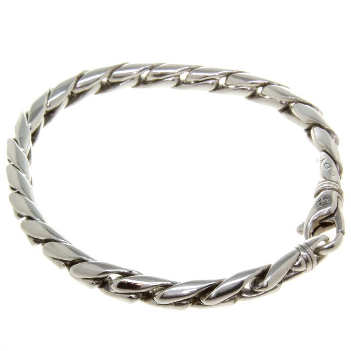 David Yurman 6mm Cobra Chain Bracelet - Chicago Pawners & Jewelers