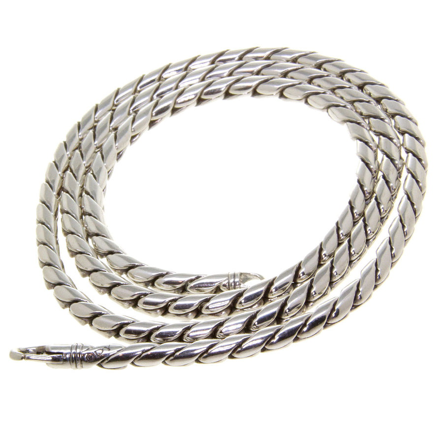 David Yurman 4mm Cobra Chain Necklace - Chicago Pawners & Jewelers