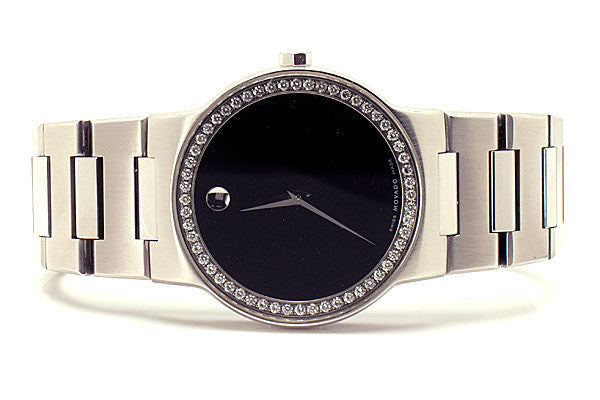 Movado Safiro with Diamond Dial - Chicago Pawners & Jewelers