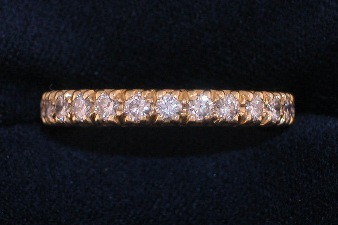 1.30ct Diamond Eternity Band - Chicago Pawners & Jewelers
