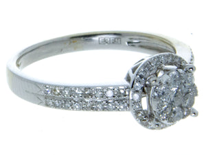 Effy Bouquet Diamond Halo Engagement Ring - Chicago Pawners & Jewelers