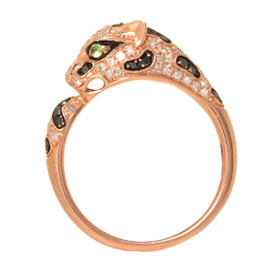 Effy Signature Diamond & Tsavorite Garnet Panther Ring - Chicago Pawners & Jewelers