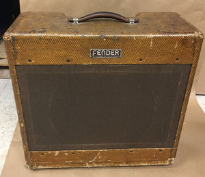 1953 Fender Bassman Tweed Amplifier 5B6