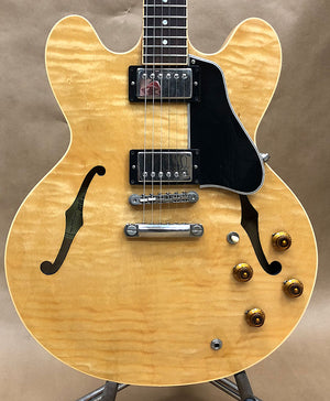 2002 Gibson ES-335 Natural Dot Neck - Chicago Pawners & Jewelers